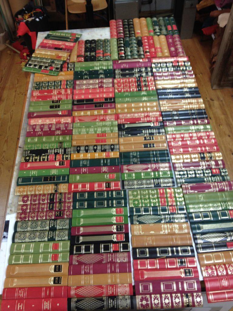 La Gainerie D'Art- faux dos de livres au mètre linéaire (3)