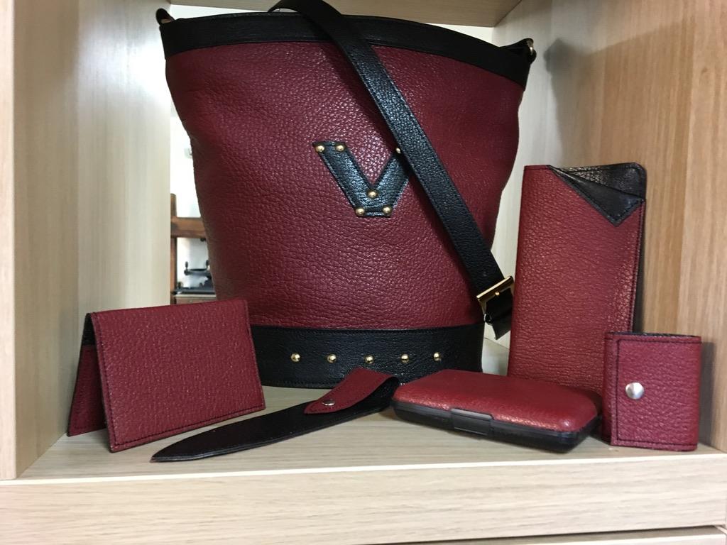 La Gainerie d'art -sac Cyclamen avec accessoires